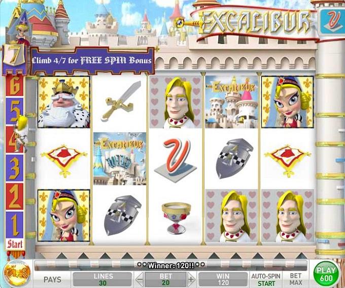 My Vegas Excalibur