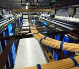 Inside a Facebook data center in Prineville, Ore.