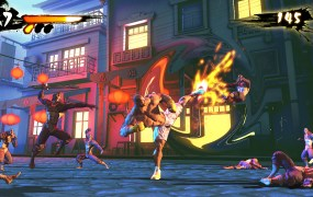 A shot of Shaq-Fu: A Legend Reborn in action.