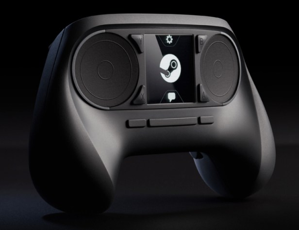 The old version of the Steam Controller.