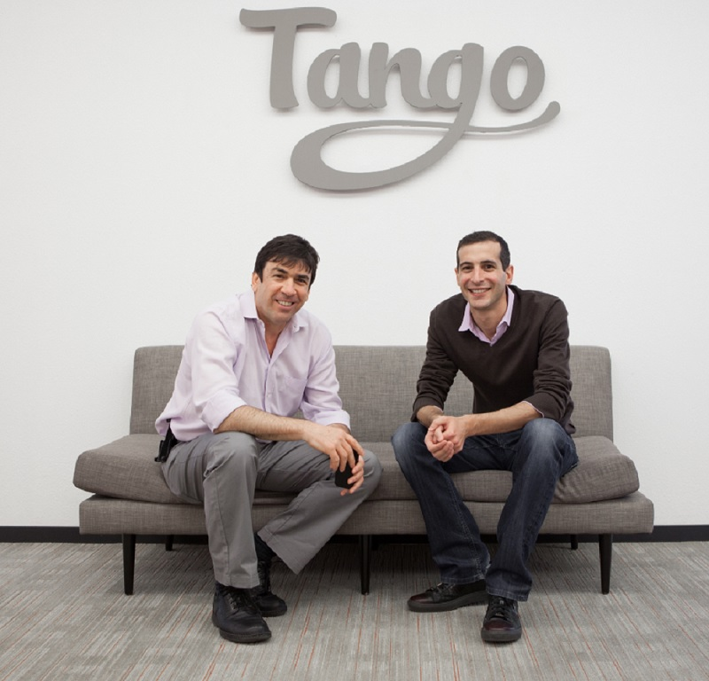 Uri Raz and Eric Setton of Tango