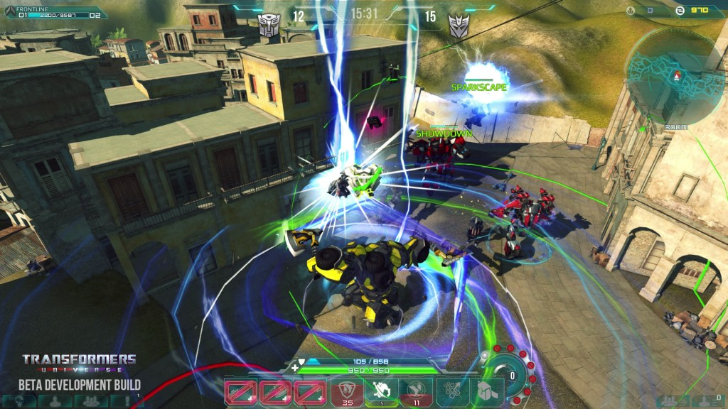 Teamwork and tactics will be key to success in Transformers Universe. Brute force might help at times, though.