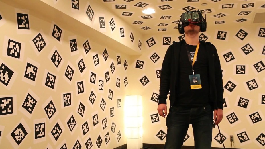 Atman Binstock's VR Room at the Steam Devs Day converence.