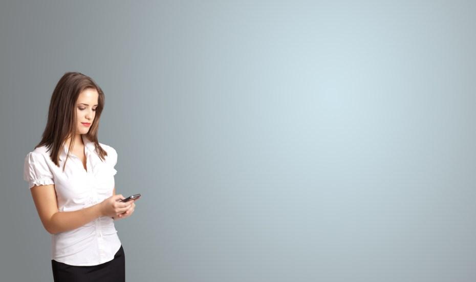 woman cell phone ra2studio Shutterstock