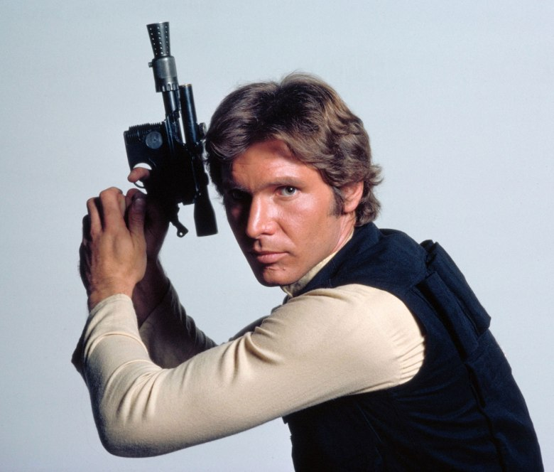 Han Solo sure is roguish and fun.