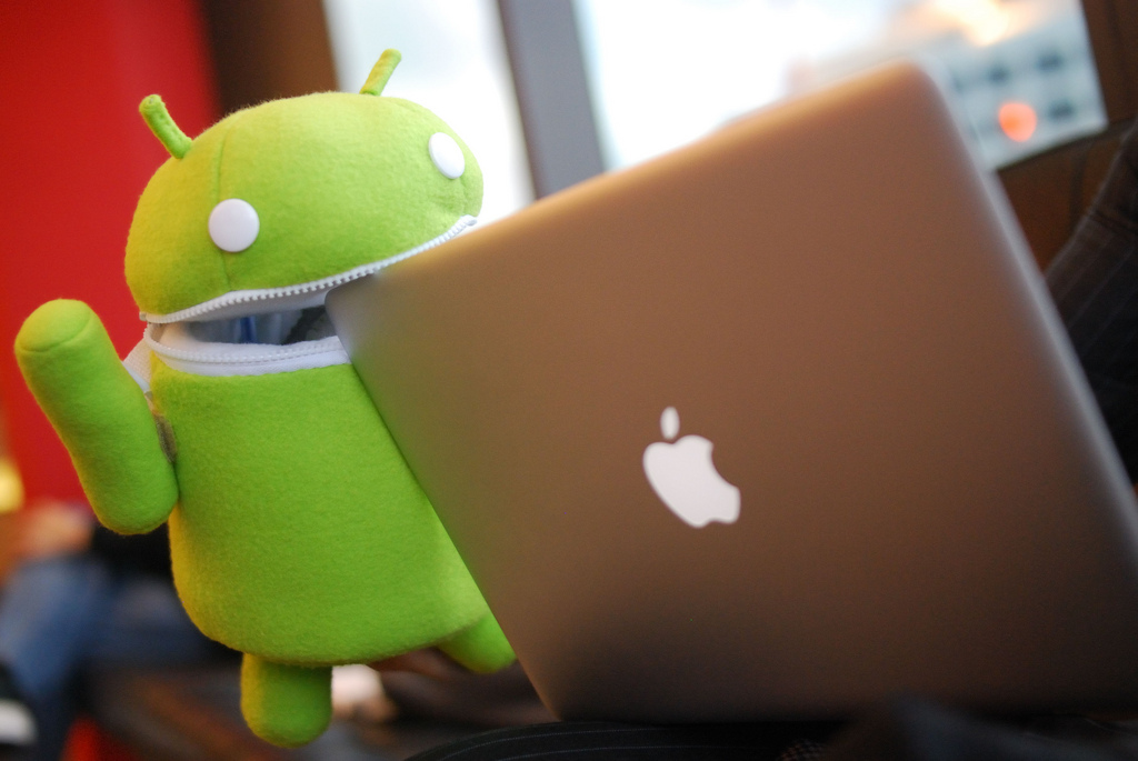 Android Eats Apples