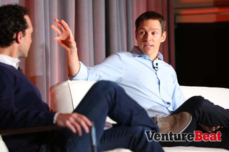 Twitter VP Alex Roetter at VentureBeat's Mobile Summit.