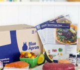 "A Blue Apron ""meal kit."""
