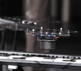 One of KMel Robotics' drones plays the keyboard in a demonstration video.