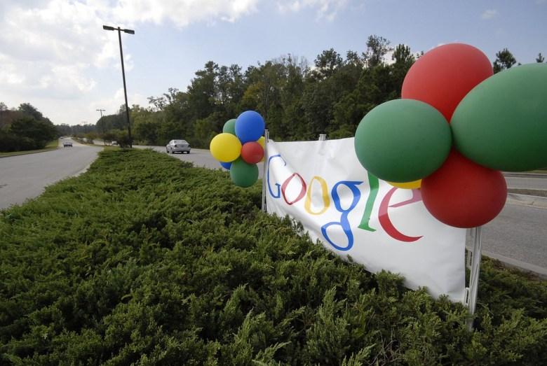 Google banner Charlestons TheDigitel Flickr