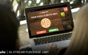 Hulu's new ad units let you order pizza from the actual TV commercial.