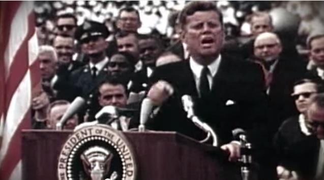 Kennedy's moon speech