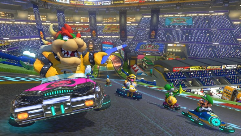 Mario Kart 8 is performing well for the struggling Wii U.