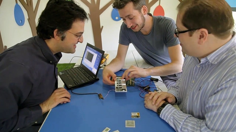 Project Ara developers at Google's Mountain View headquarters.