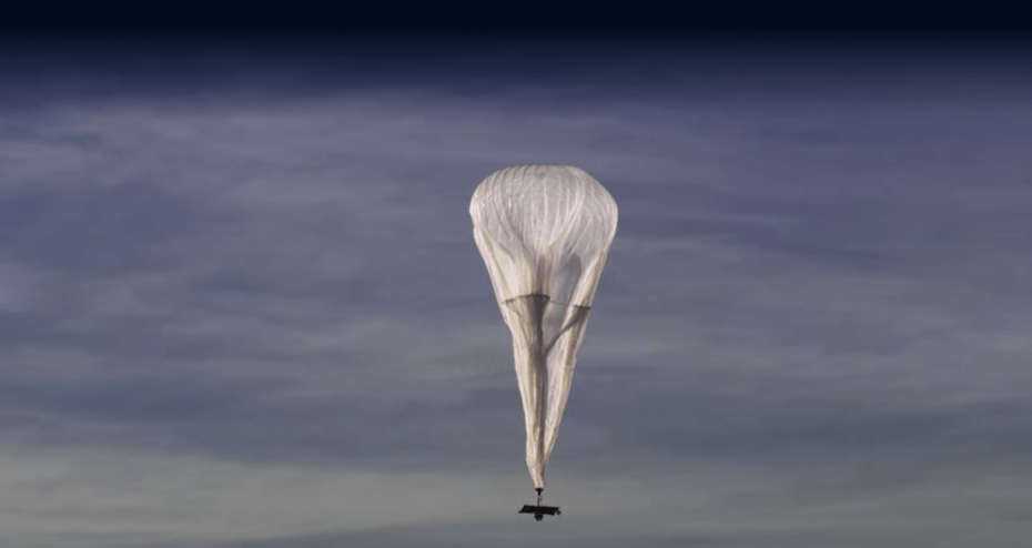 A Google Loon balloon.
