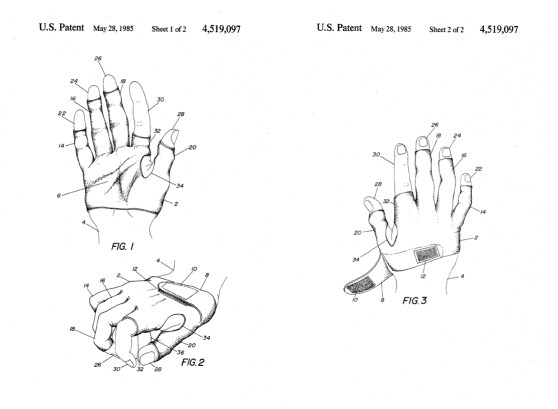 Video game protective glove