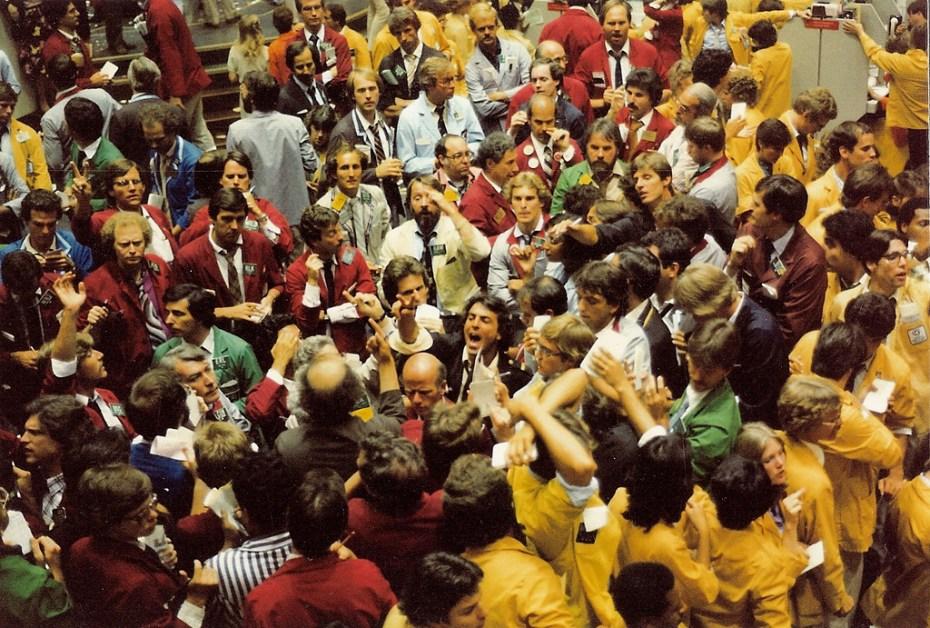 Stock exchange Baer Tierkel Flickr