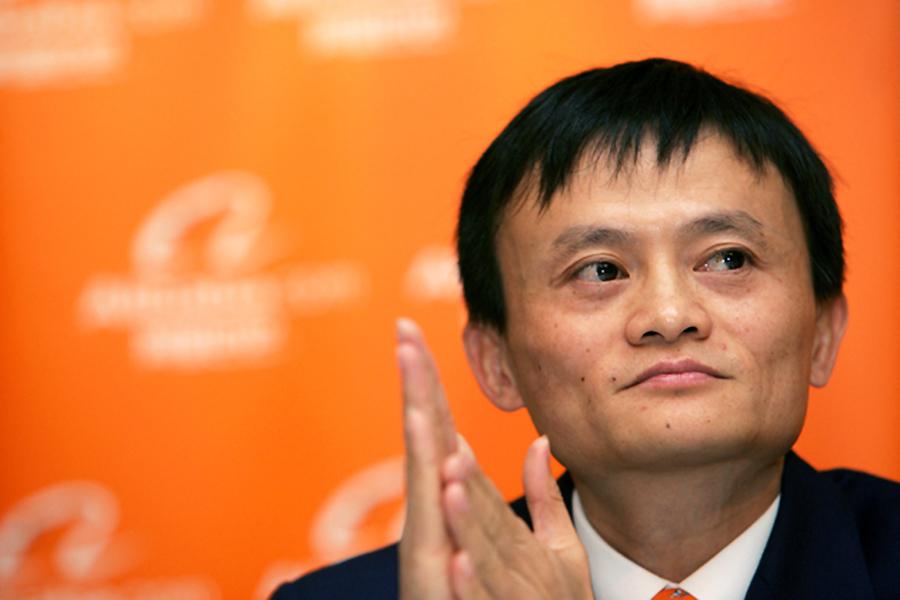 Alibaba chief executive Jack Ma