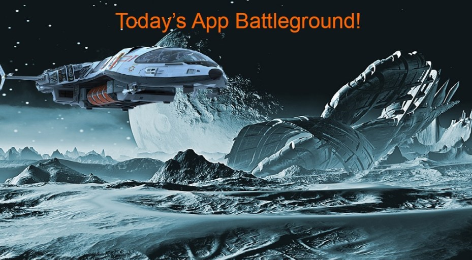 The app battleground