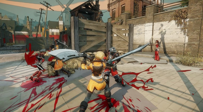 Battlecry is a bloody mess -- but a pretty one.
