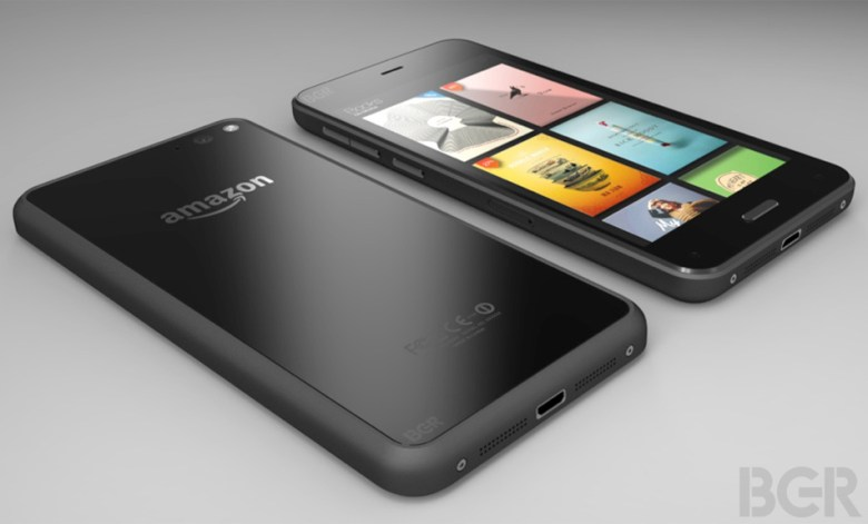 A leaked render of Amazon's upcoming smartphone