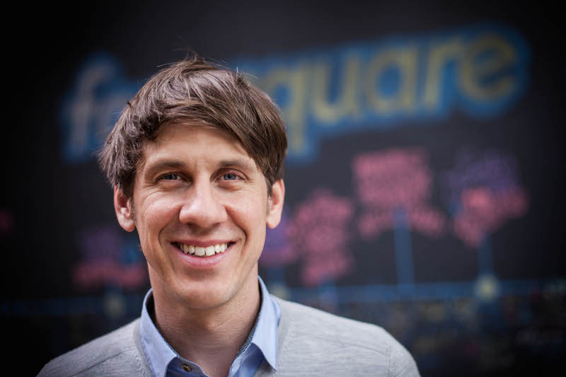 Dennis Crowley, Foursquare chief executive