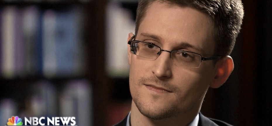 Edward Snowden talked to the NBC.