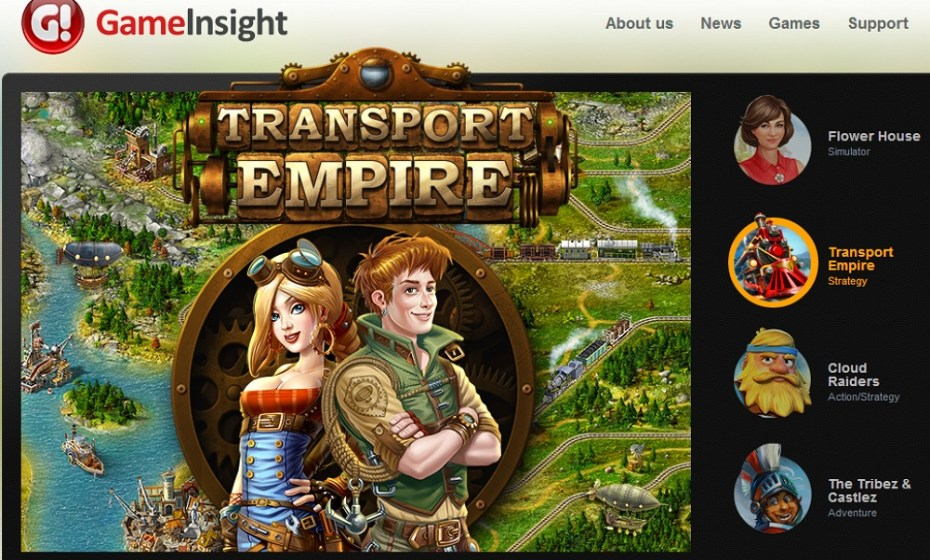 Game Insight's Transport Empire