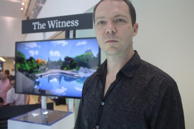 Jonathan Blow, creator of The Witness.