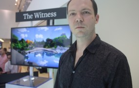 Jonathan Blow, creator of The Witness.