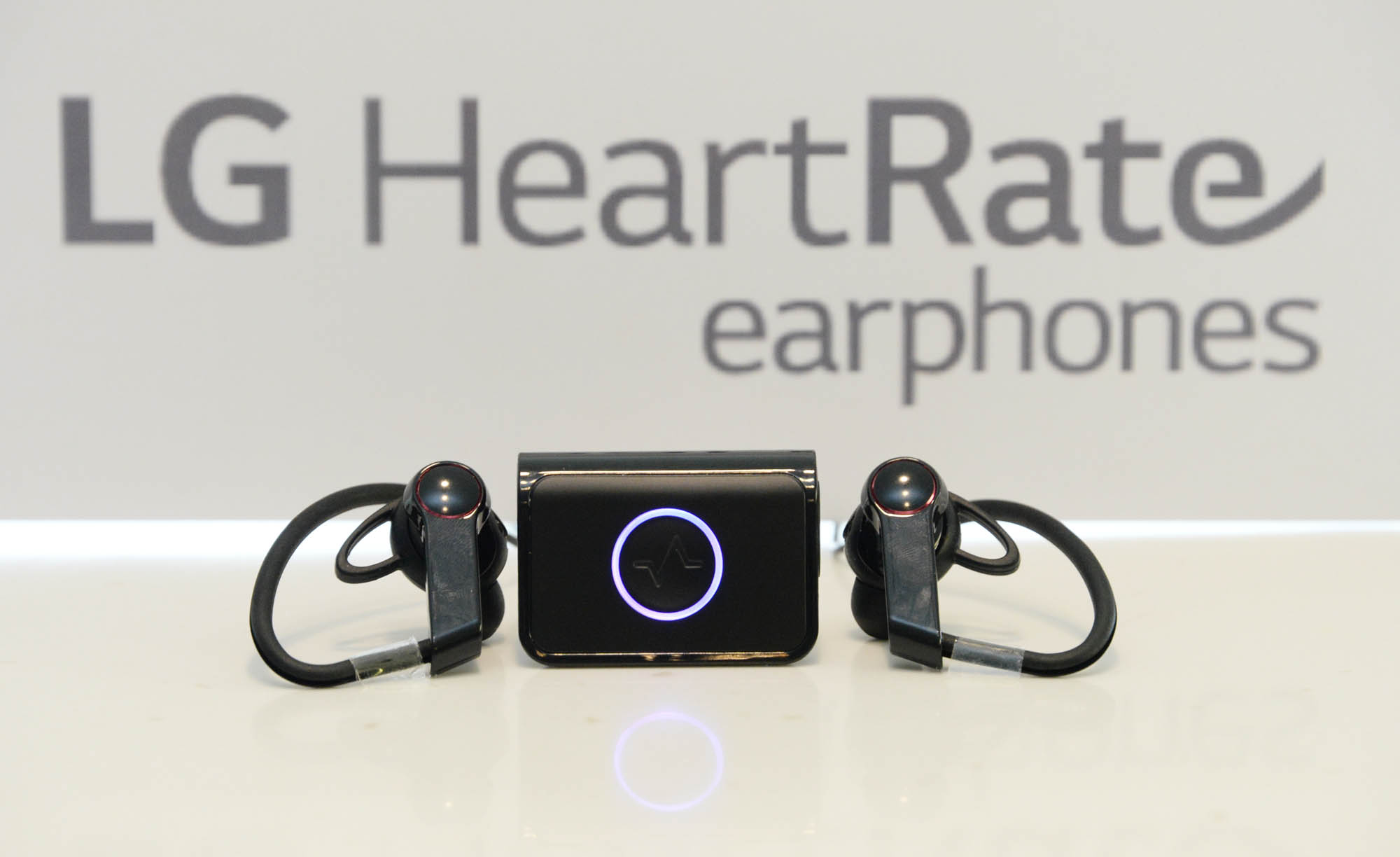 LG Heart Rate Earphones