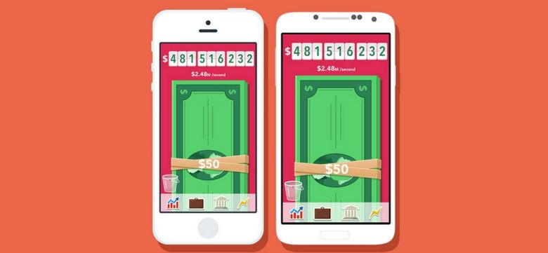 The money-swiping game for iOS and Android.