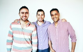 The MakeSpace cofounders.