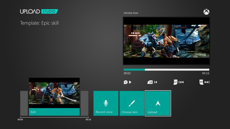 Video sharing on Xbox One.