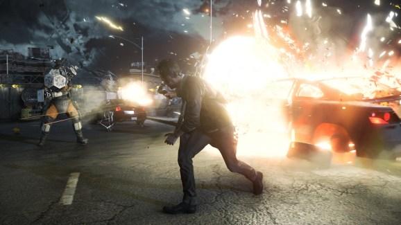 Quantum Break in action for Xbox One.