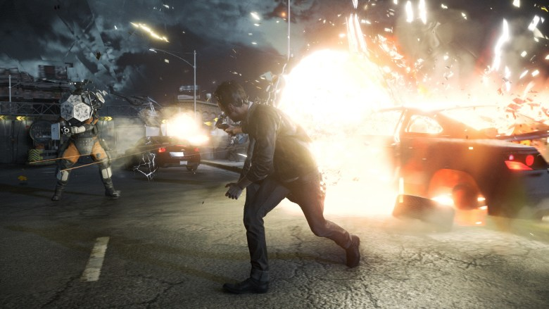 Quantum Break in action for Xbox One.