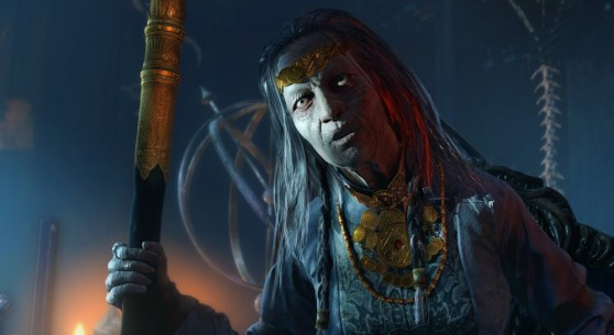 The queen of Nurn gives you a mission in Shadow of Mordor.
