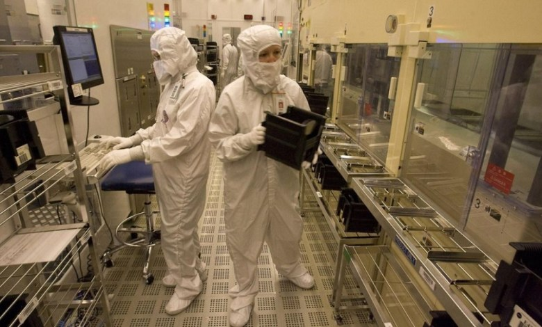 Spansion chip factory