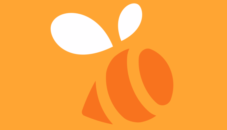 The logo for Foursquare's Swarm app
