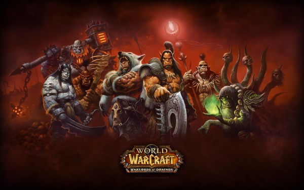 World of Warcraft's upcoming expansion, Warlords of Draenor.