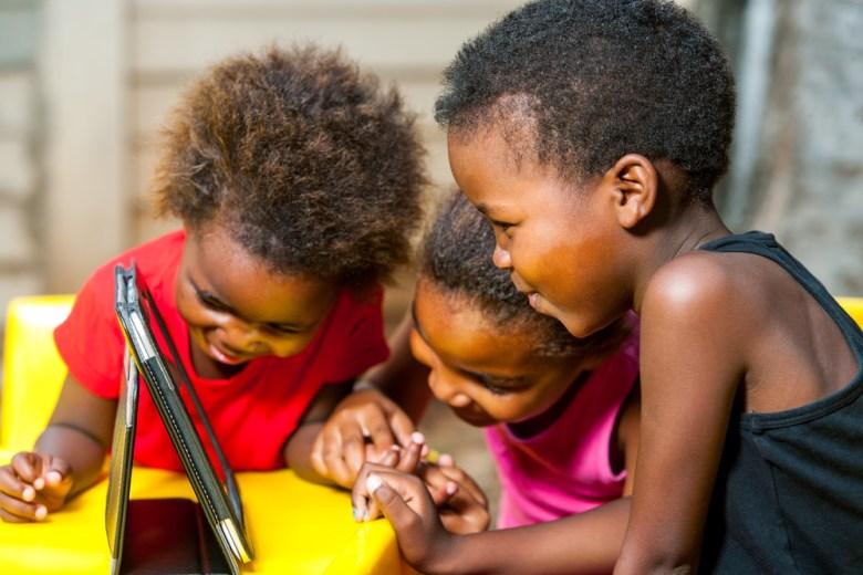 africa solar tablet