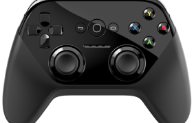 The Android TV controller borrows elements from Microsoft and Sony's devices.