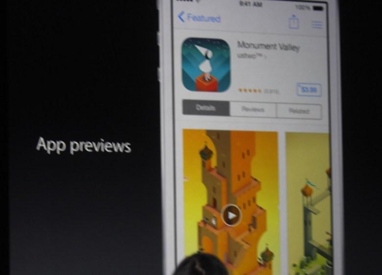 Apple App Store app previews