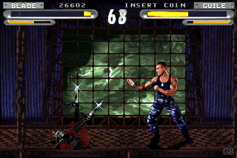 Street Fighter: The Movie Blade 2