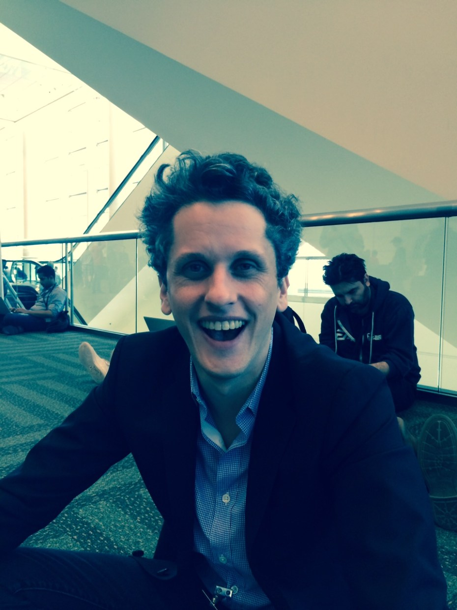 Box chief Aaron Levie at WWDC 14.