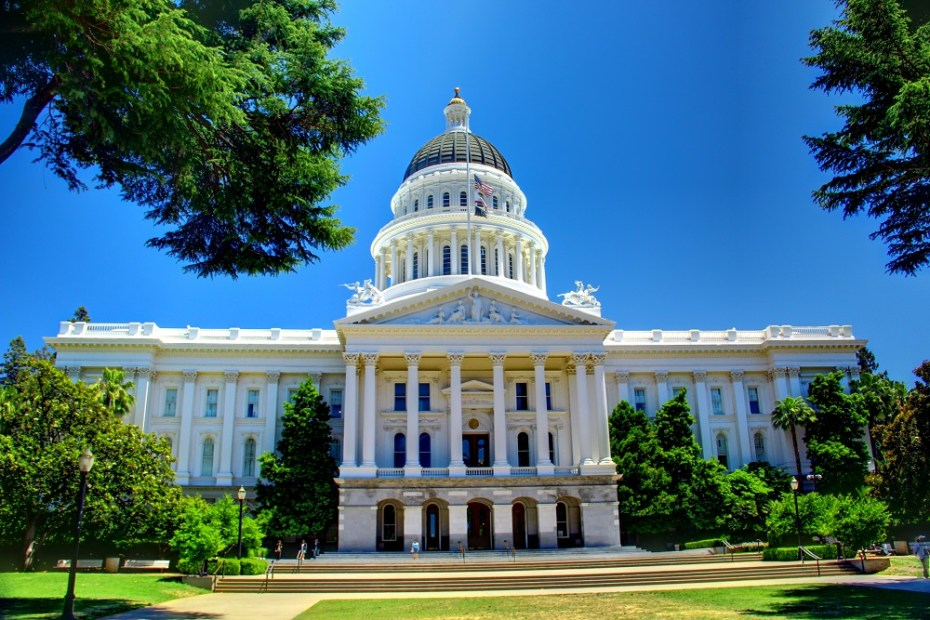 California's State Capitol.