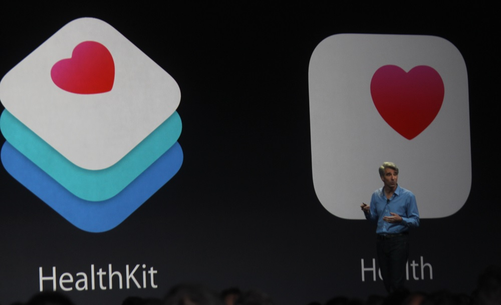 Healthkit from Apple at WWDC 2014