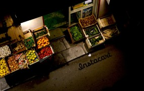 Instacart is an app and a website where customers can order groceries form local stores.