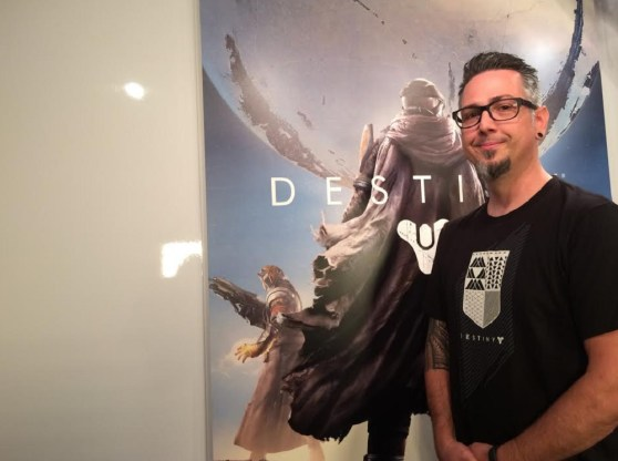 Jason Sussman, senior environment artist on Destiny for Bungie,