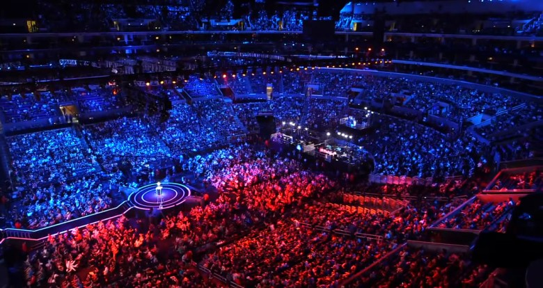 League of Legends draws massive in-person crowds in addition to the millions who watch online.